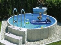 Schwimmbadumrandung 1