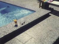 Schwimmbadumrandung 2